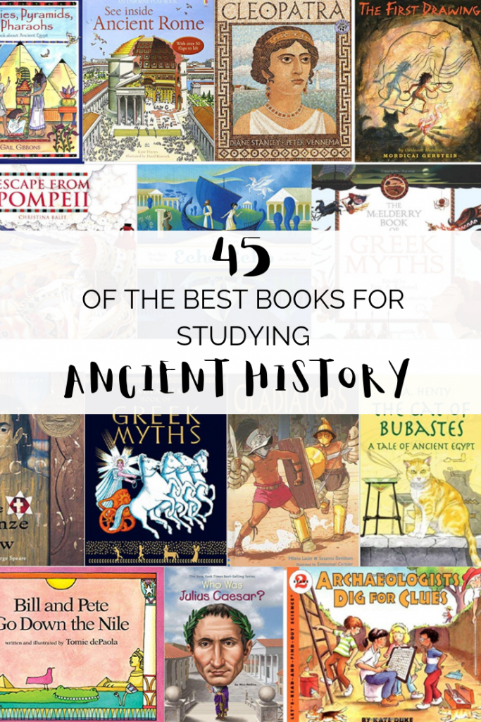 Studying the Ancients this year? Even if you aren't you're going to want to check out this big list of the best ancient history picture books!