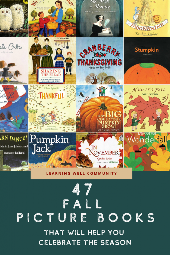 Fall picture books can be such a huge part of celebrating the season. Here's a huge list on nature, fall fun, Halloween and Thanksgiving!