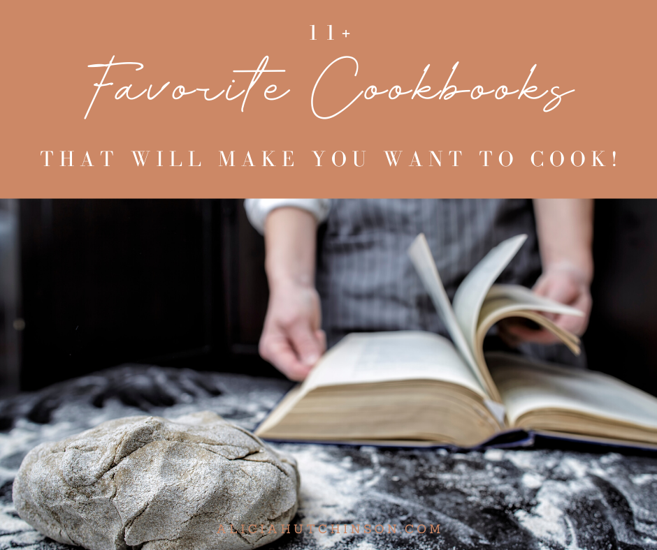 Do good cookbooks motivate you to cook more? They do for me. Here's an awesome list of all my favorite cookbooks that will make you want to cook!