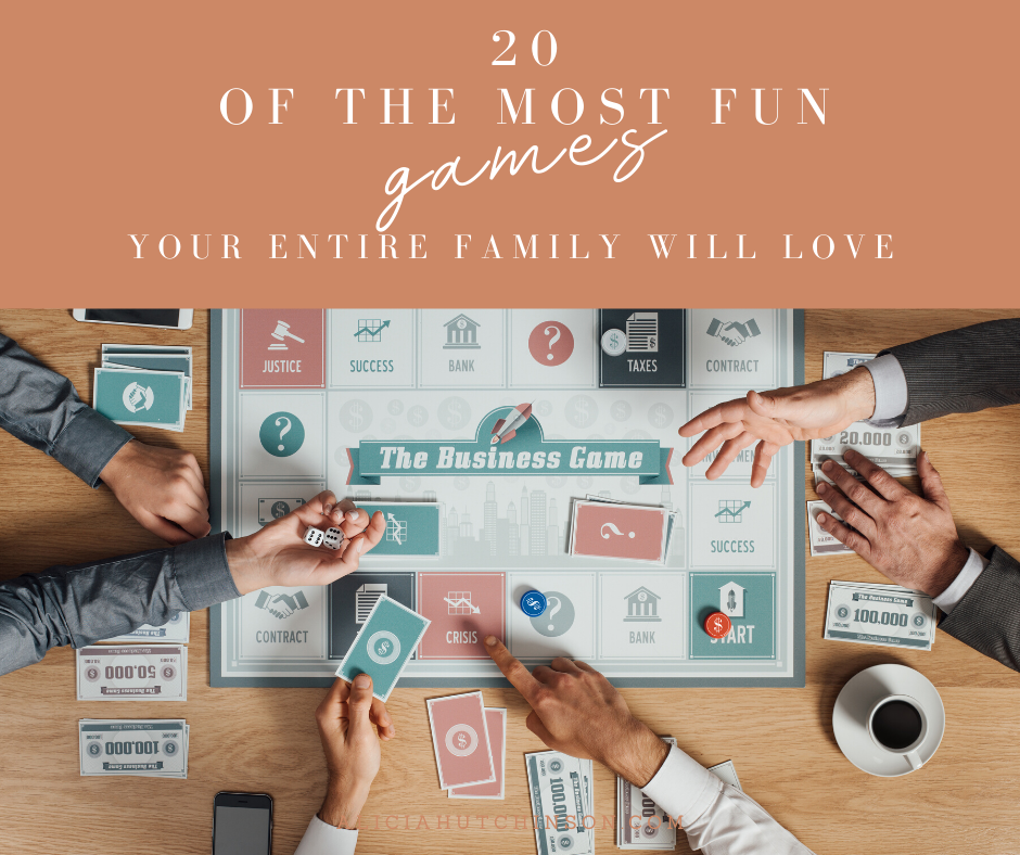 Need some family board games everyone will love this holiday season? Yes, even the grandparents will enjoy this list of awesome family board games!