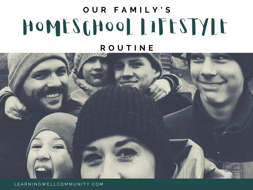 A homeschool lifestyle routine has helped me, a Type A mama, to be able to set academics aside and focus on the relationship with my kids. Here's how: