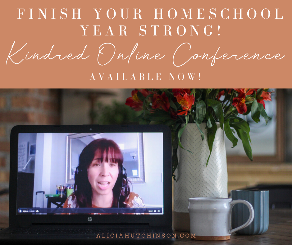 If you're having trouble finishing your homeschool year strong, check out the Kindred Online Conference. You'll gain the encouragement to finish strong!