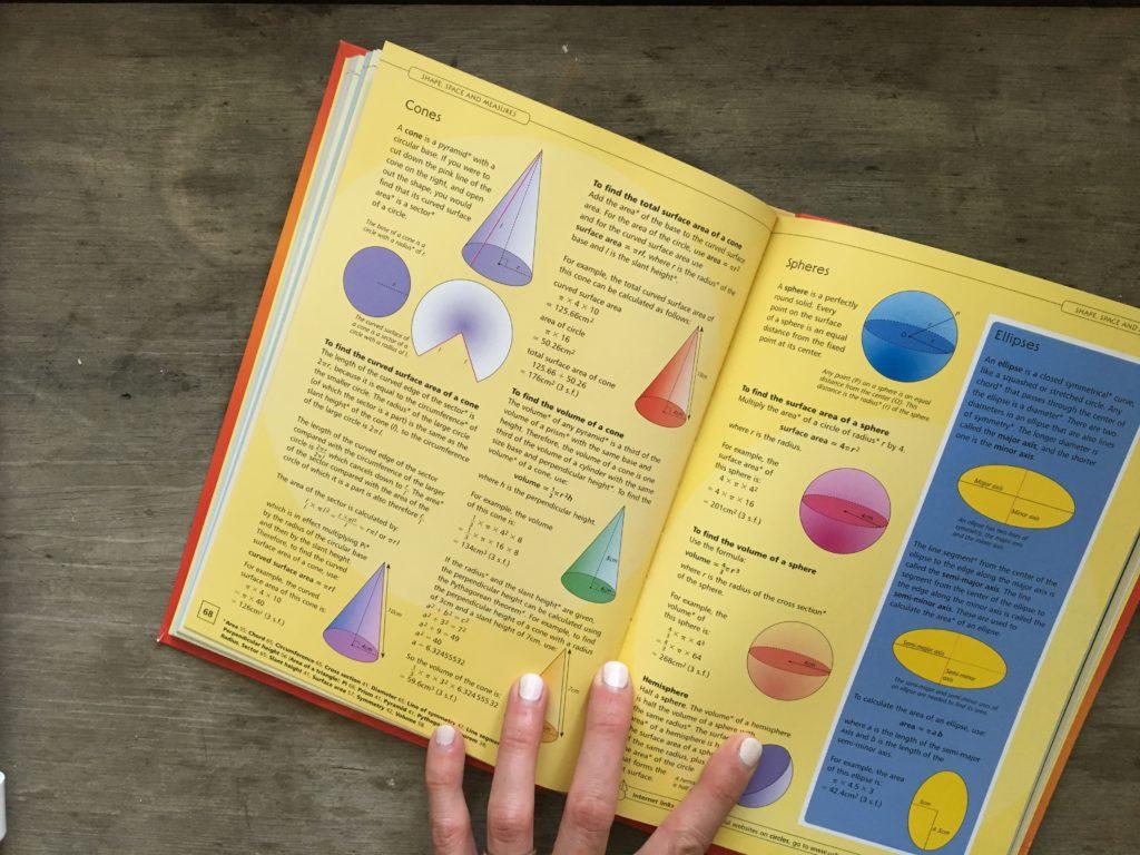 Supplementing homeschool math with Usborne Books.