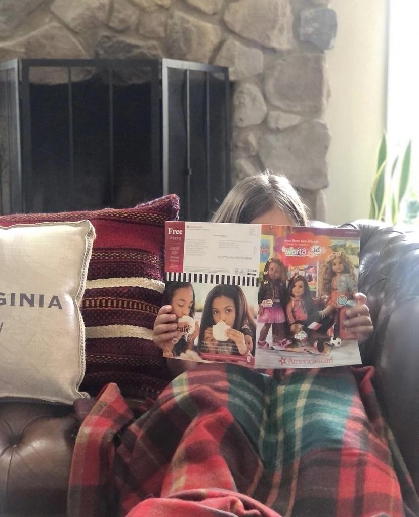 Reading aloud Rachel