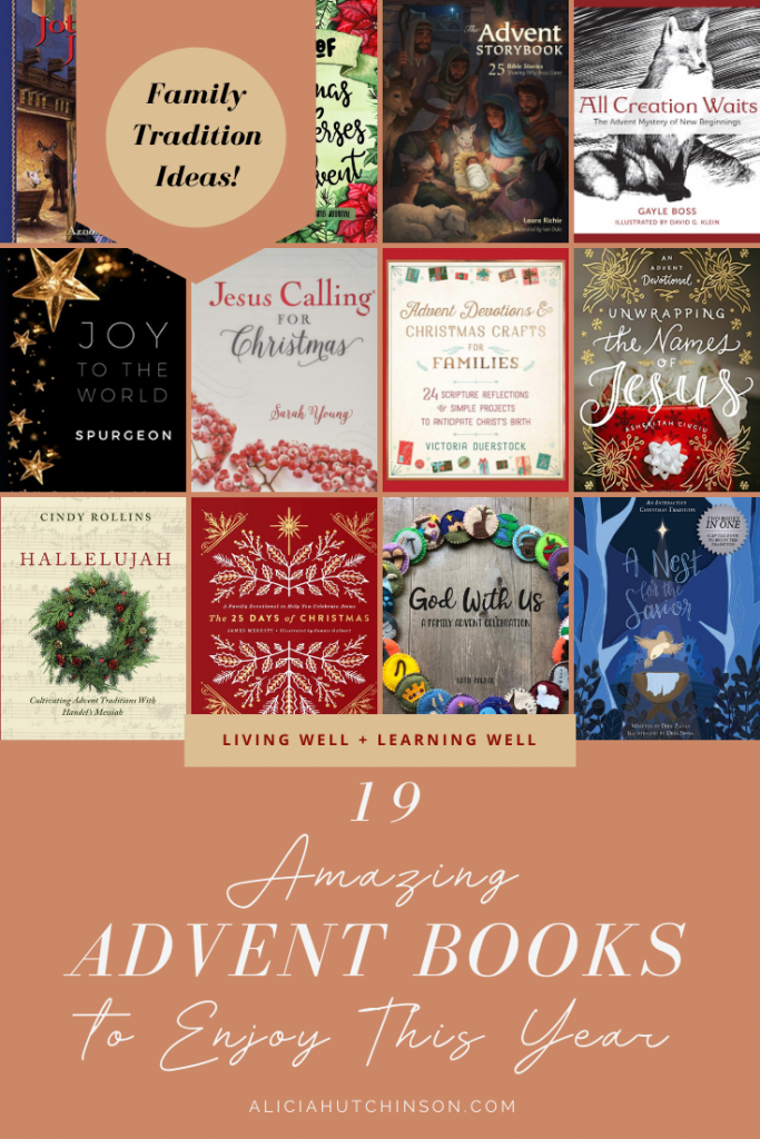Don't let another Christmas go by with gift-obsessed kids. Keep the focus around the birth of our Savior. 19 amazing advent books to help you out.