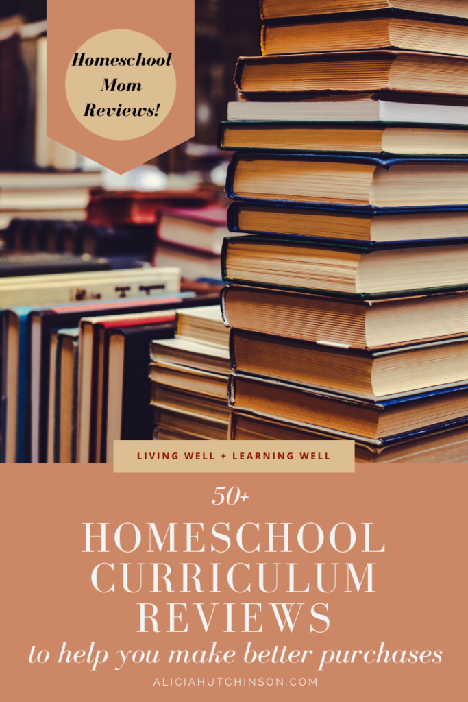 Looking for a way to make better purchases on your homeschool curriculum this year? Here are more than 50 homeschool curriculum reviews to help you decide!