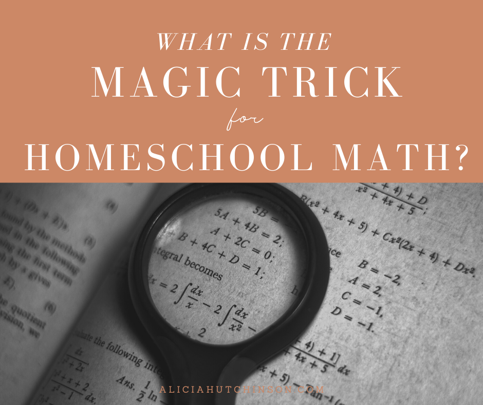 Is there a magic trick for homeschool math? Read on for My Math Assistant review and learn how it can help you get on top of your homeschool math.