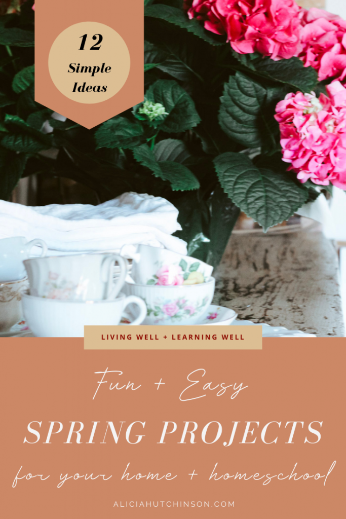 Spring Projects for your Home and Homeschool