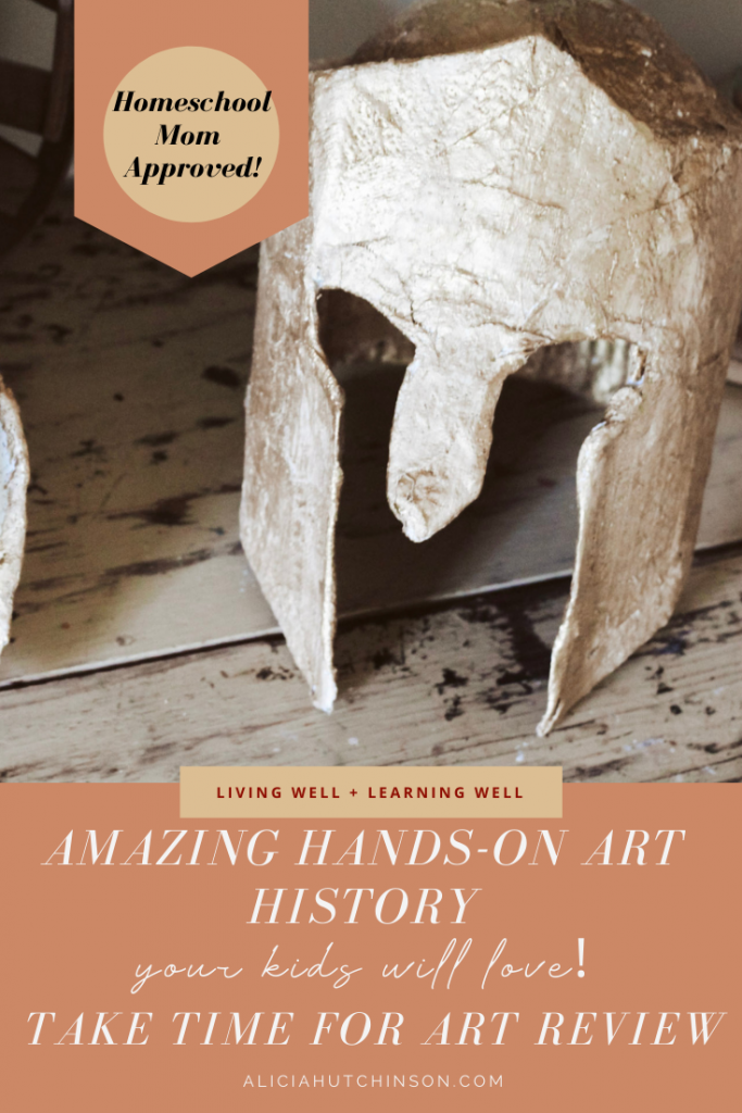 Take Time for Art is an art curriculum that gives you a full concept of art history plus an amazing hands-on experience. This is our review..