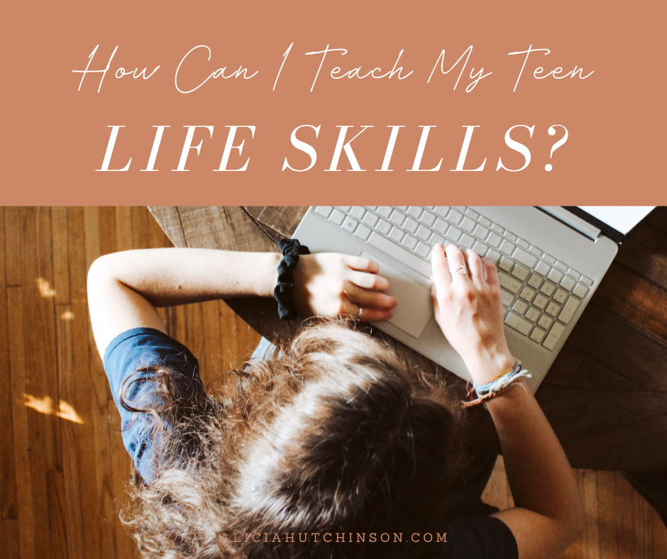 It's difficult to teach your teen life skills when there are so many things we need to teach them each day. Here's a course to solve that!